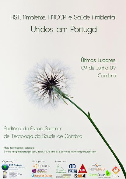 """SEMINÁRIO """"Unir a Comunidade HST, Ambiente, HSA e Saúde Ambiental em Portugal"""""""