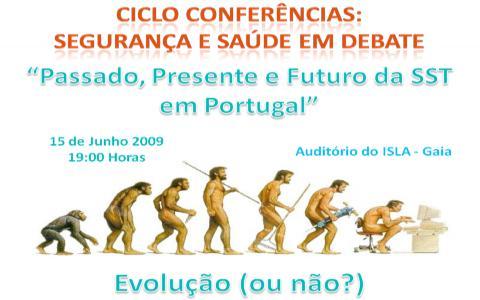 Ciclo de Conferências: Debates sobre a Segurança e Saúde do Trabalho