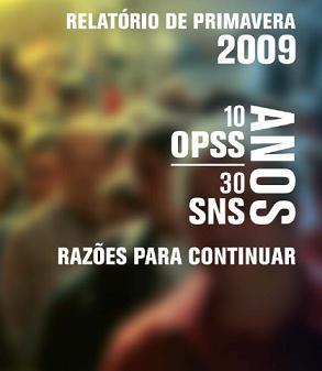 Relatório de Primavera 2009