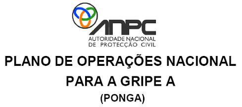 Plano de Operações Nacional para a GRIPE A (PONGA)