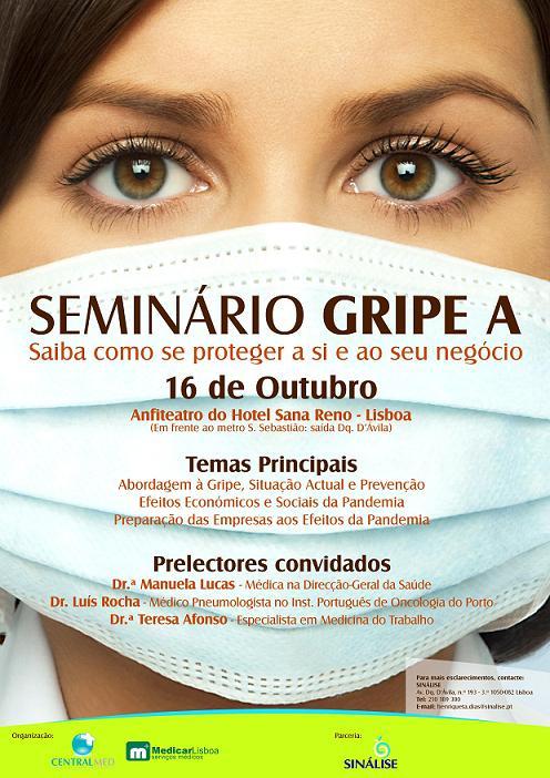 Seminário Gripe A (H1N1): como se proteger a si e ao seu negócio.