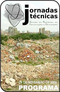 Jornadas Técnicas de Gestão de Resíduos de Construção e Demolição