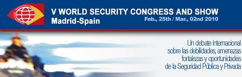 V Congreso Mundial de Seguridad - World Security Congress