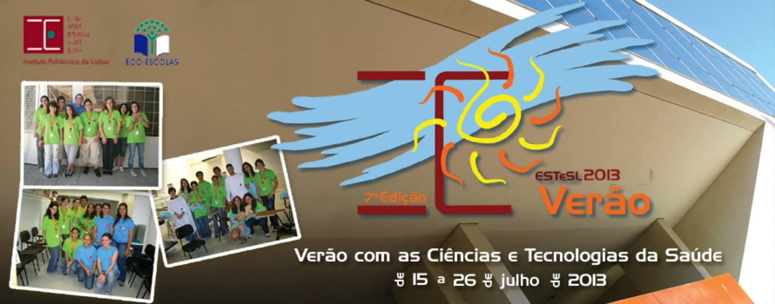 Verão com as Ciências e Tecnologias da Saúde 2013