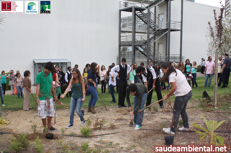 No Dia Mundial da Saúde Ambiental, a ESTeSL ficou mais verde.
