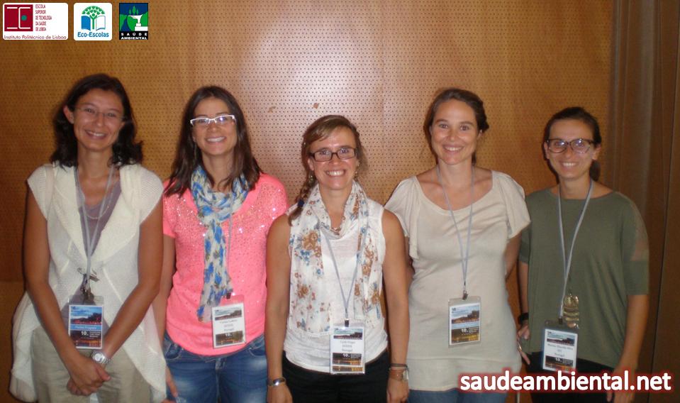 Grupo de Investigação Ambiente e Saúde da ESTeSL participou ativamente no ICOETOX 2013