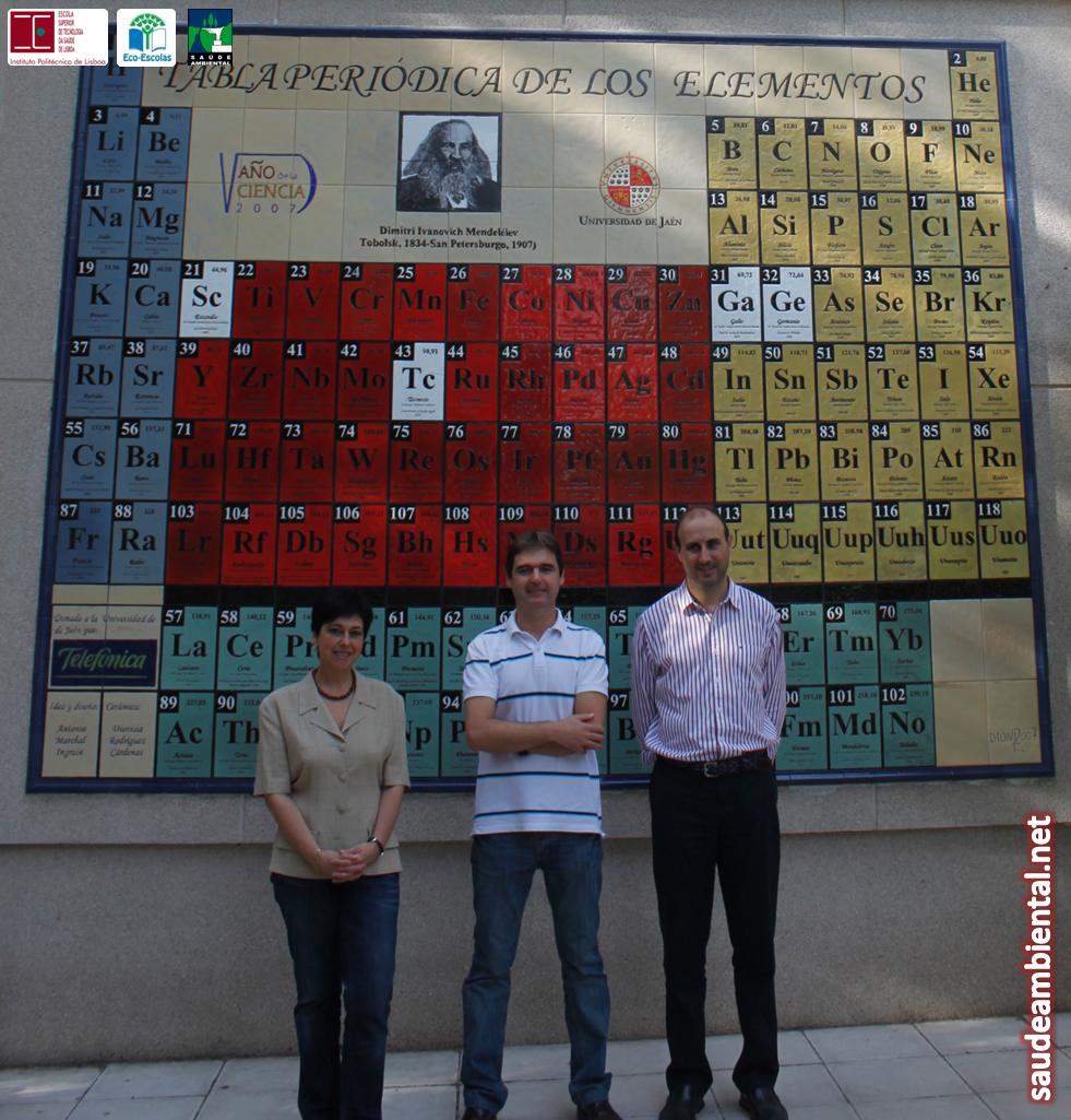 Professor Vítor Manteigas, docente da área científica de Saúde Ambiental, visita Universidad de Jaén em Espanha
