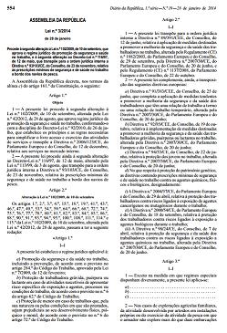 Lei n.º 3/2014, de 28 de janeiro
