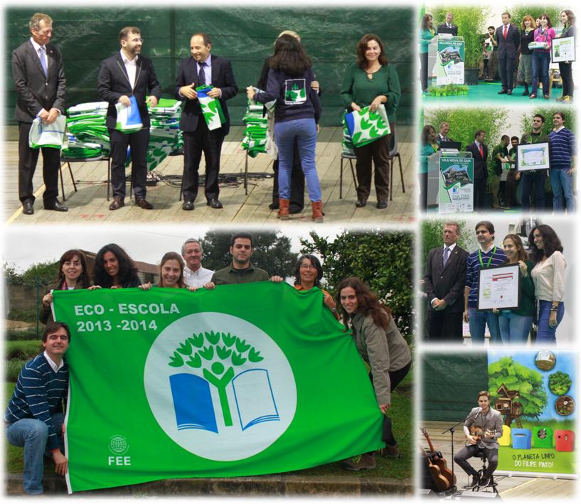 A ESTeSL no Dia das Bandeiras Verdes 2014
