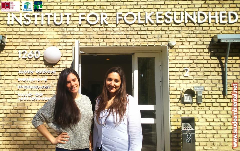 A Saúde Ambiental (ESTeSL) à descoberta da Dinamarca, na Universidade de Aarhus.
