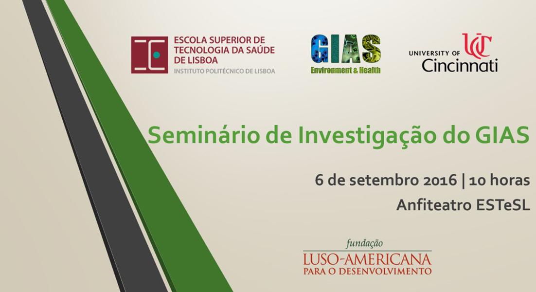 Seminário de Investigação do GIAS