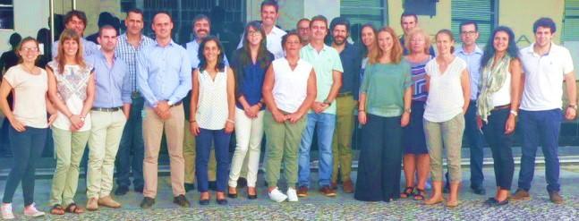 Equipa ClimACT na reunião de kick-of no Campus Tecnológico e Nuclear do IST