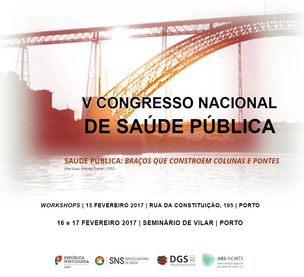 V Congresso Nacional de Saúde Pública