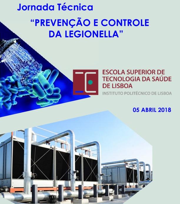 """Jornada Técnica """"Prevenção e Controlo da Legionella"""""""