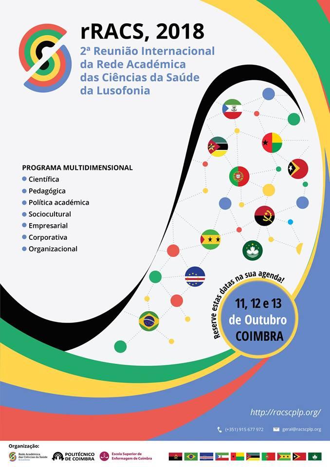 Reunião Internacional da Rede Académica das Ciências da Saúde da Lusofonia (rRACS 2018)