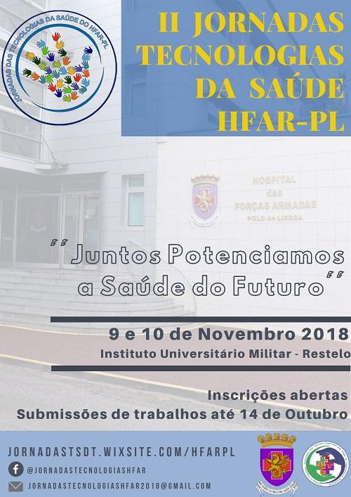 II Jornadas Tecnologias da Saúde HFAR-PL