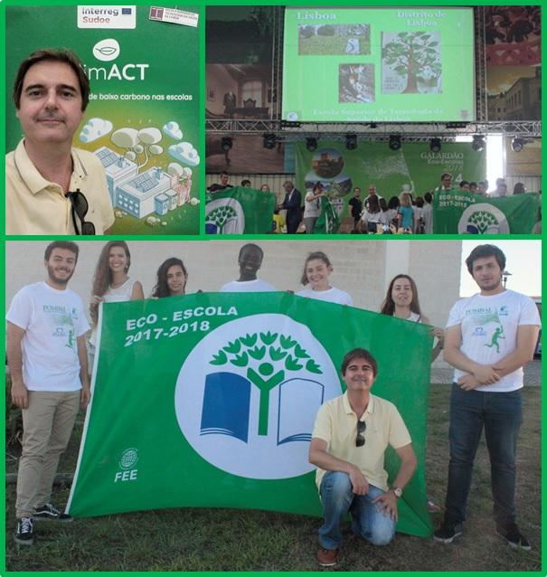 O verde da Saúde Ambiental no Galardão Eco-Escolas