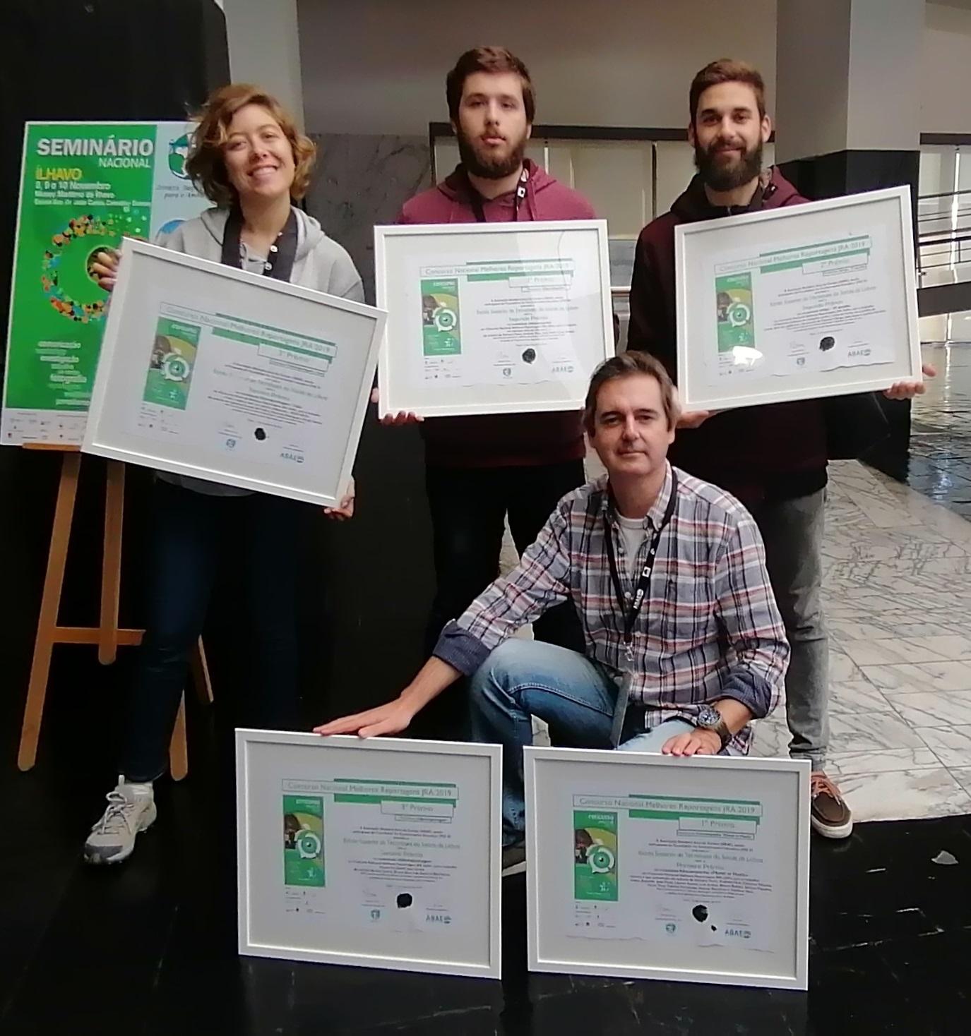 A Saúde Ambiental da ESTeSL no Seminário Nacional Jovens Repórteres para o Ambiente